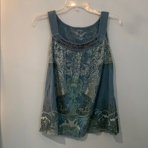 ⭐️ 2 for $15- Sonoma Teal Tank Top